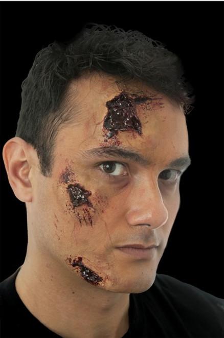 3 Piece Gashed Scar Set #4