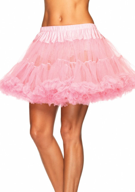 Pink Tulle Standard Costume Petticoat
