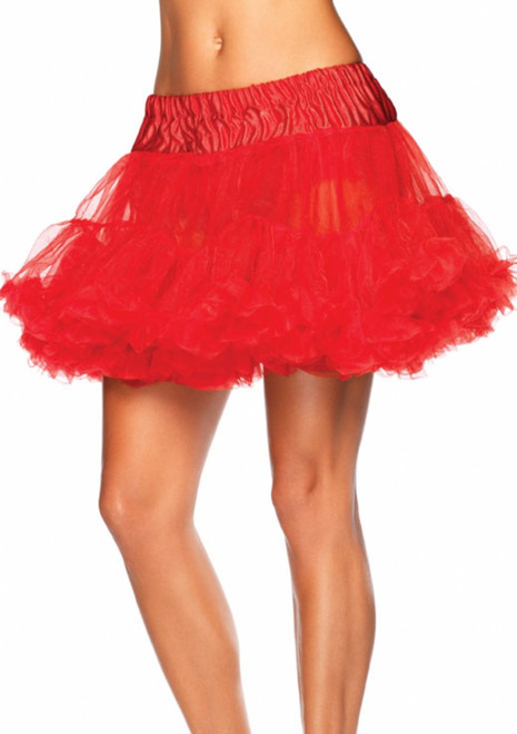 Red Tulle Standard Costume Petticoat