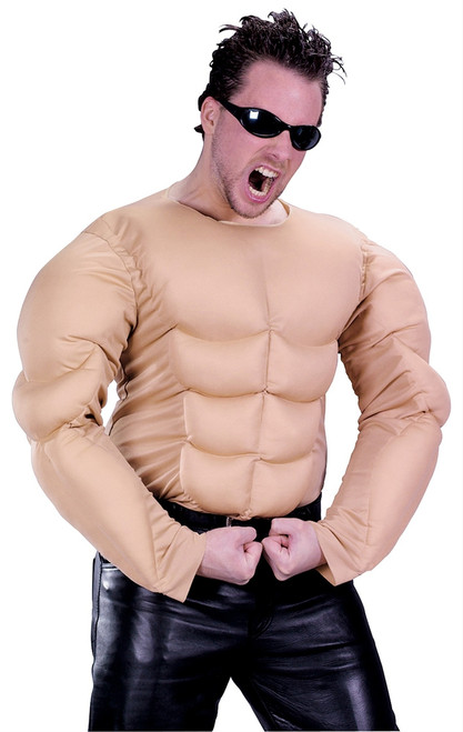 Muscle Chest Costume Shirt