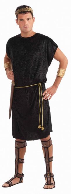 Versatile Black Tunic Roman Toga Costume
