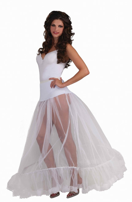 Long Crinoline Hoop Skirt