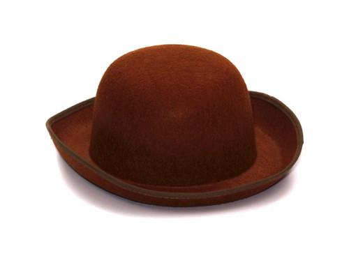 Brown Steampunk Derby Hat