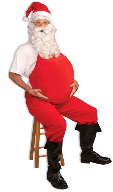 Red Padded Santa Belly