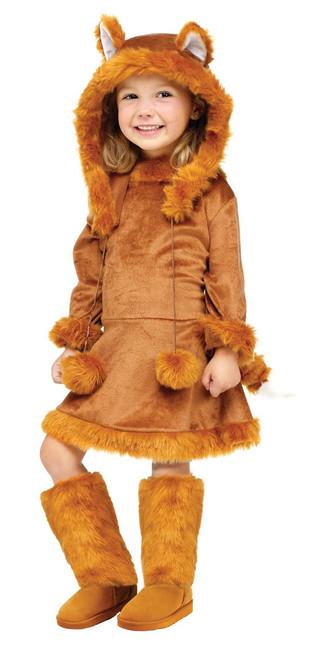 Toddler's Sweet Fox Dress Costume