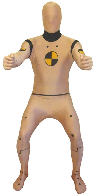 Adult Crash Test Dummy Funny Morphsuit