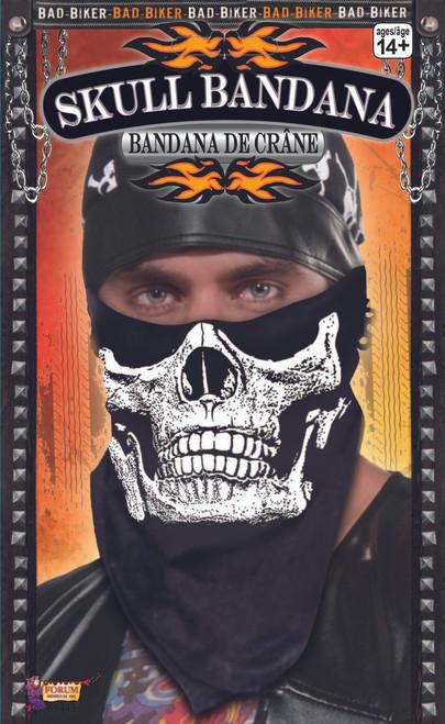 Skull Face Bandanna