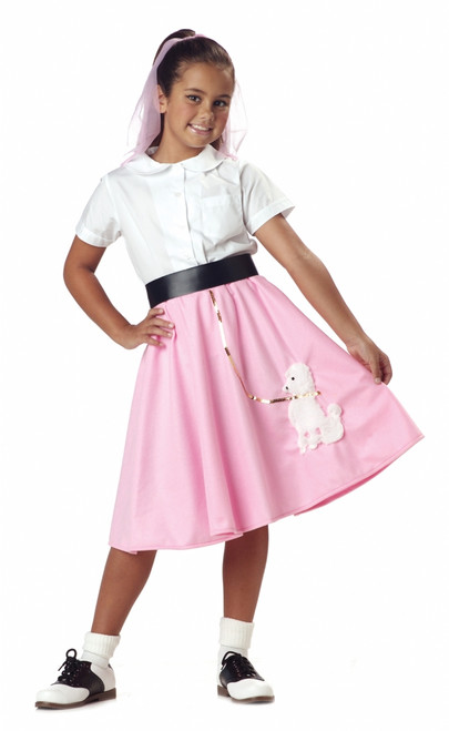 50s Children's Poodle Skirt Costume Piece