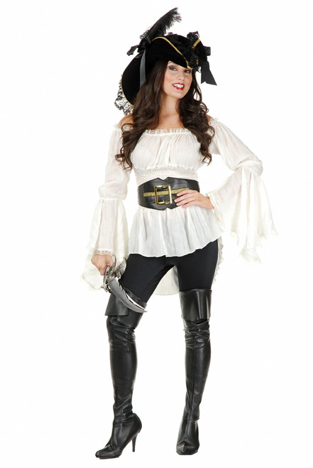 Pirate Vixen Peasant Blouse