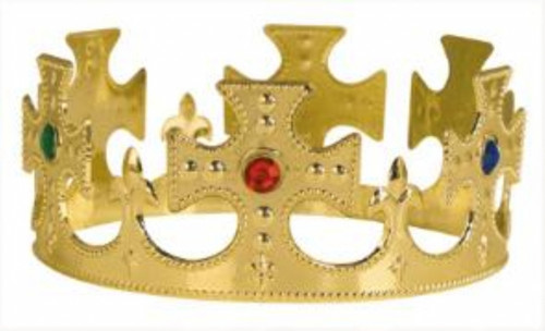 Plastic Jewel Crown