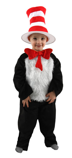 Infant/Toddler's Deluxe Cat in the Hat Costume