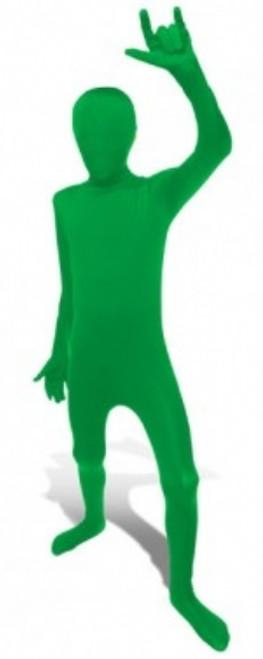 Kids Green Morphsuit Full Body Costume