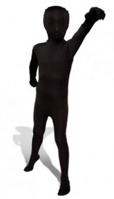 Kids Black Morphsuit Full Body Costume
