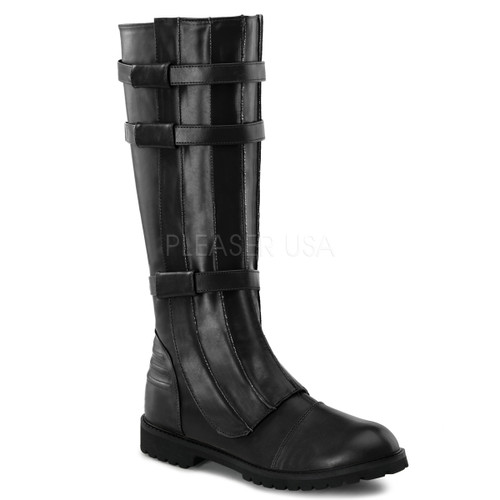 Men's Basic Black Walker Boots