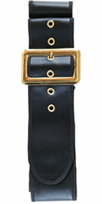 Thick Black Santa Belt