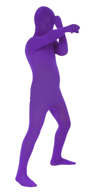 Kids Purple Morphsuit Full Body Costume