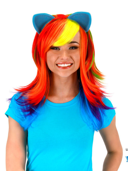 My Little Pony Rainbow Dash Wig with Ears