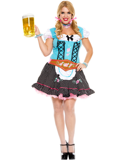 Miss Oktoberfest Costume  - Plus Size