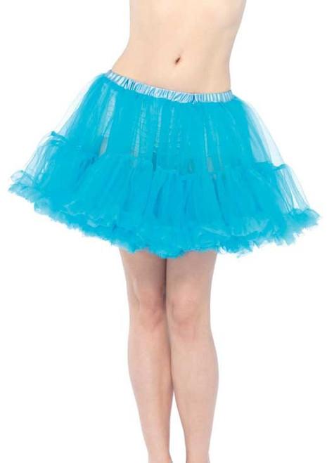 Fluffy Turquoise Petticoat