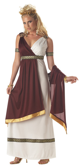 Roman Empress Ladies Toga Costume