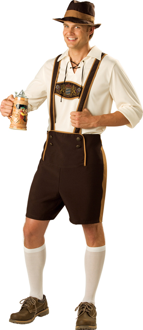 Bavarian Guy Mens Oktoberfest Costume