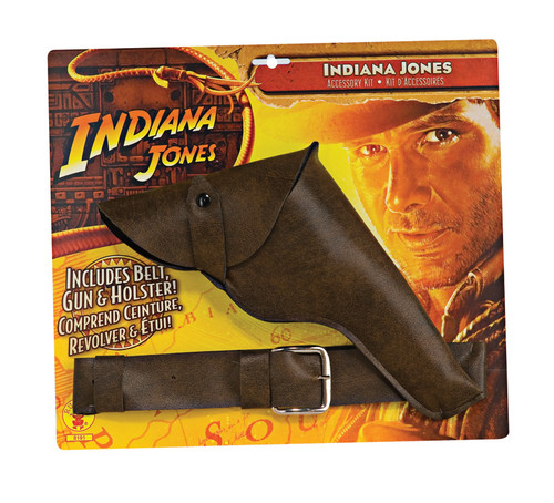 Indiana Jones Belt with Holster & Gun