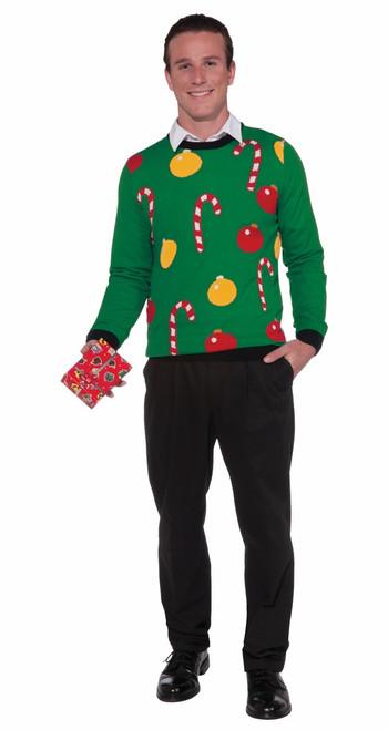 'Tis the Season Candy Cane Sweater