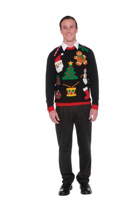 Everything Christmas Ugly Christmas Sweater