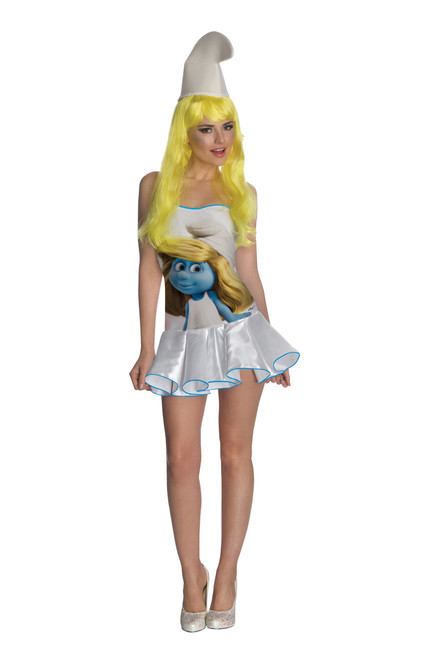Sexy Ladies Smurfette Costume