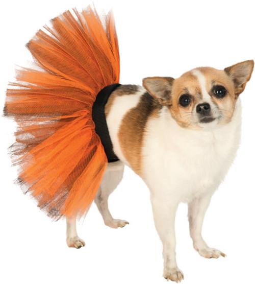 Orange and Black Pet Tutu