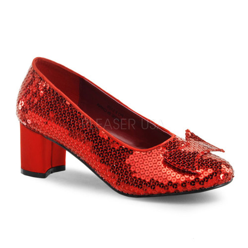 Dorothy Wizard of Oz Ruby Red Costume Shoes