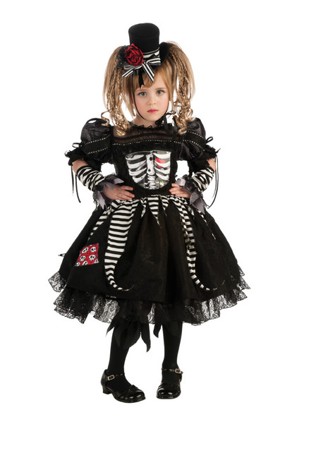 Children's Skeleton-Girl Costume