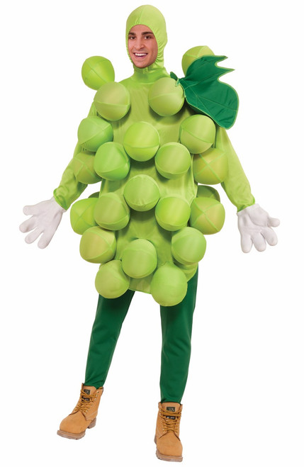 Funny Green Grapes Adult Costume