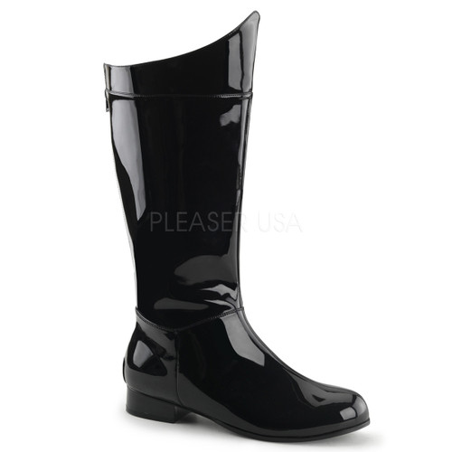 Black Men's Superhero Boots