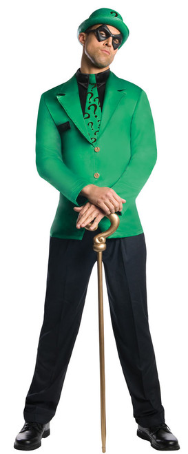 DC Comics Super Villian The Riddler Costume