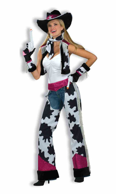 Glamour Cowgirl Cowboy Ladies Costume