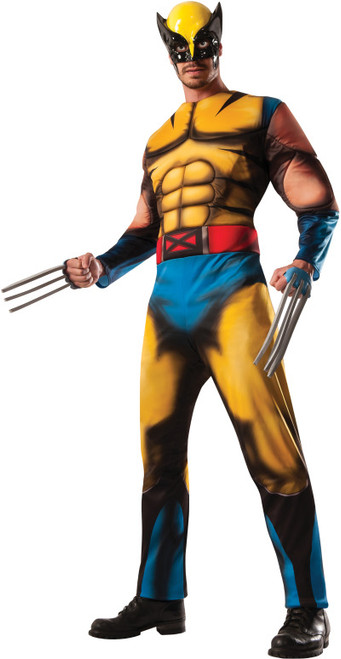 Marvel Wolverine Muscle Chest Costume