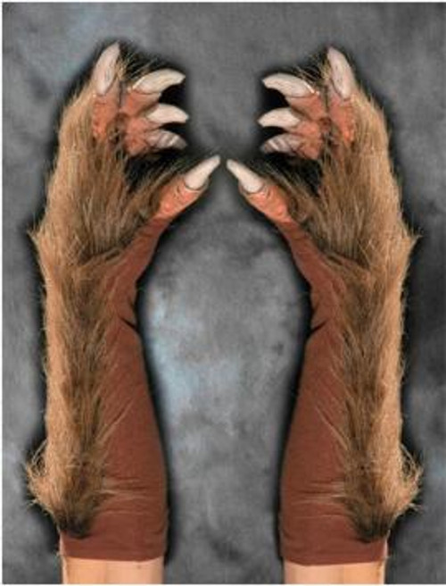 Deluxe Wolf Gloves Super Action Halloween