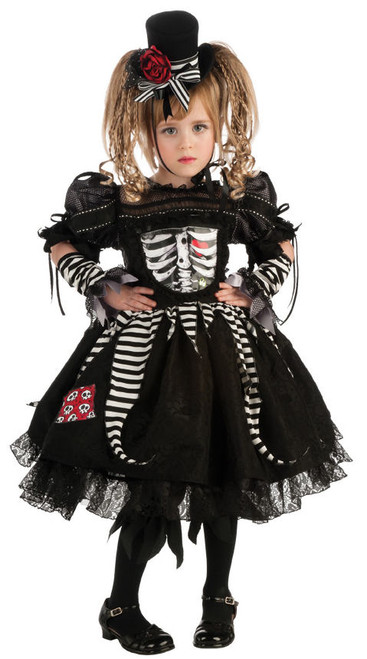 Toddler Bones Skeleton Costume