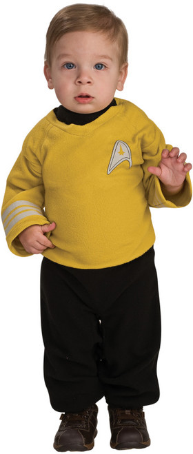 Infant/Toddler's Captain Kirk Star Trek Costume