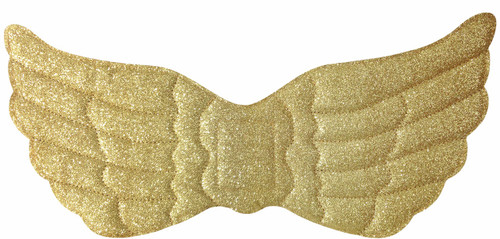 Sparkly Gold Angel Wings