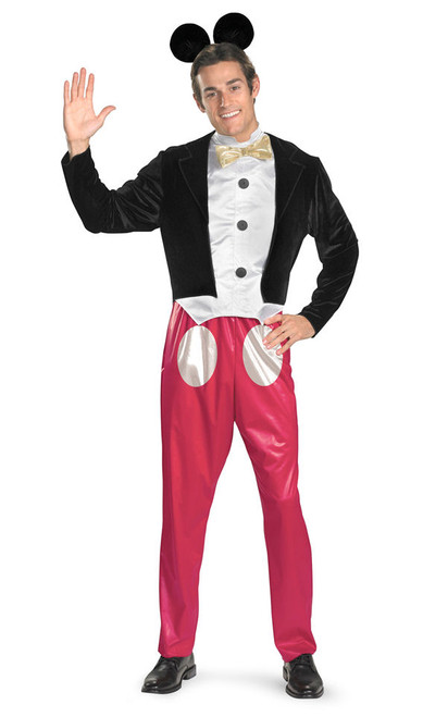 Mickey Mouse Cartoon Adult Costume