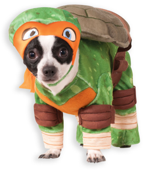 Michelangelo Teenage Mutant Ninja Turtle Pet Costume