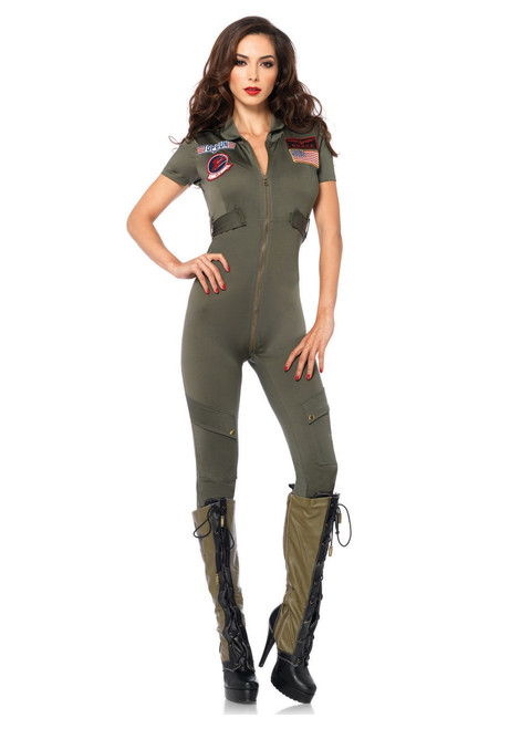 Deluxe Ladies Top Gun Flight Suit