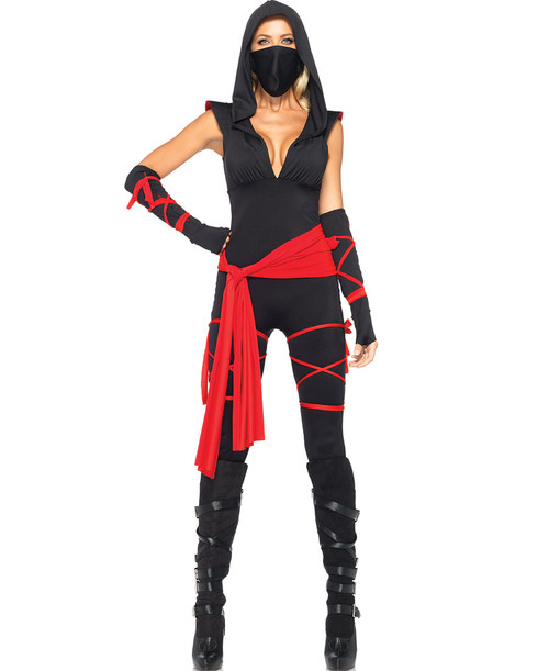 Sexy Ladies Deadly Ninja Costume