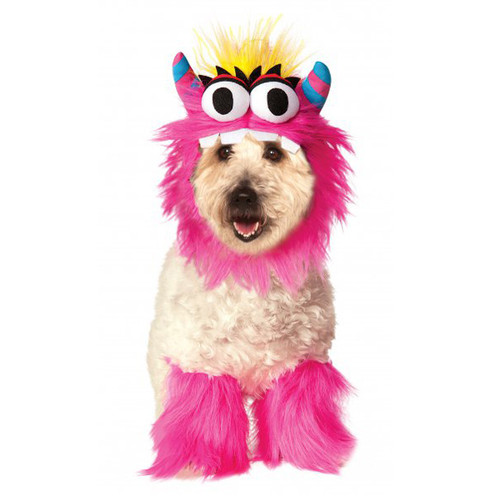 Pink Monster Pet Costume Kit