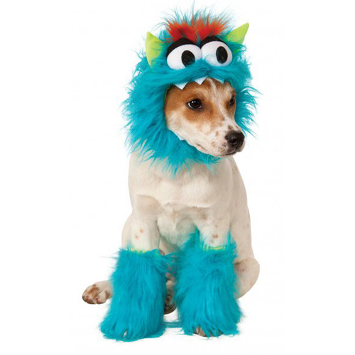Blue Monster Pet Costume Kit