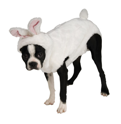 Plush Bunny Pet Costume