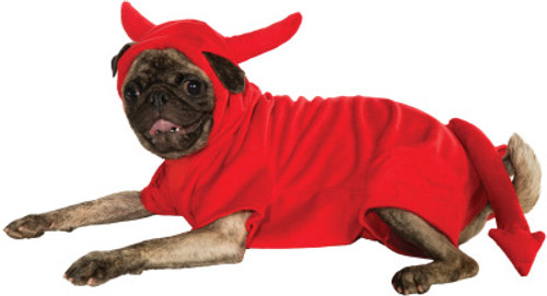 Devil Dog Hoodie Pet Costume