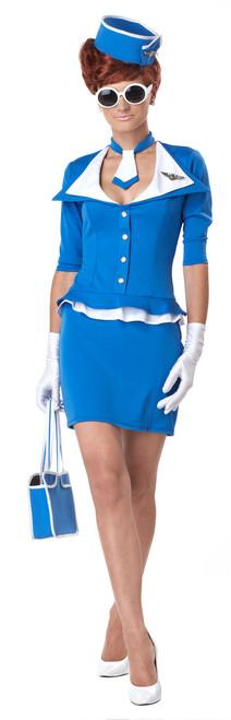Retro Flight Stewardess Costume- 60s Style